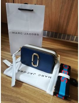 Bnwt Marc Jacobs Logo Strap Snapshot Small Camera Blue Sea Multi Cross Body Bag by Ebay Seller