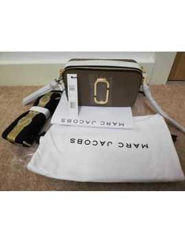 Bnwt Marc Jacobs Logo Strap Snapshot Small Camera French Grey Cross Body Bag by Ebay Seller
