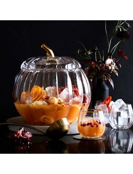 Pumpkin Punch Bowl by Williams   Sonoma
