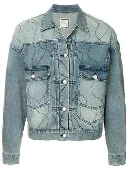Wooyoungmistitch Detail Denim Jackethome Men Wooyoungmi Clothing Denim Jackets by Wooyoungmi