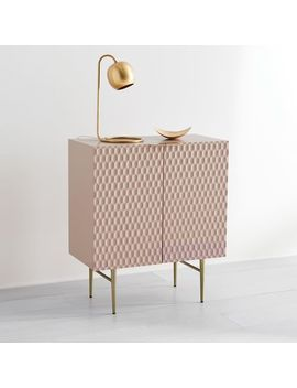 Audrey Cabinet   Blush by West Elm