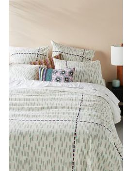 Suno For Anthropologie Embroidered Catalan Duvet Cover by Suno For Anthropologie