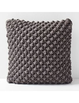 Bobble Knit Pillow Covers by West Elm