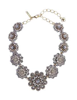 Swarovski Crystal Collar Necklace by Oscar De La Renta