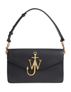 Logo Leather Shoulder Bag by Jw Anderson