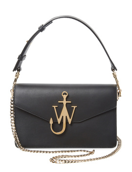 J.W. Anderson Leather Logo Buckle Crossbody Bag by J. W. Anderson