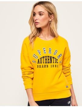 Urban Street Applique Sweatshirt by Superdry