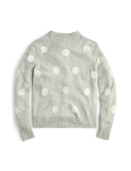 1988 Dot Roll Neck Sweater by J.Crew