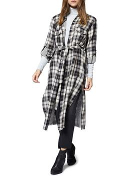 Boyfriend For Life Midi Shirt Jacket by Sanctuary