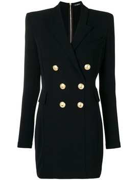 Double Breasted Suit Dress by Balmain