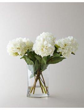 Heavenly Peonies Faux Floral Arrangement by John Richard Collection