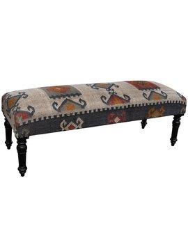 Handmade Herat Oriental Indo Wool & Jute by Herat Oriental