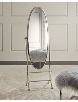 Upon Reflection Floor Mirror by