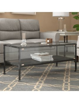 Three Posts Aldridge Terrarium Coffee Table & Reviews by Three Posts