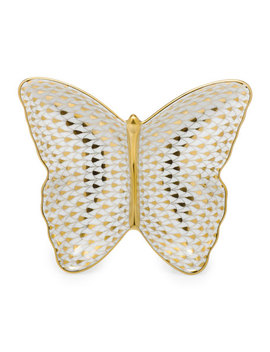 Butterfly Pin Dish by Herend