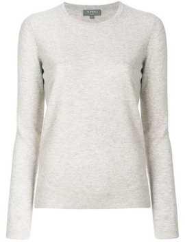 N.Pealcrew Neck Cashmere Sweaterhome Women N.Peal Clothing Jumpers by N.Peal