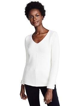 V Neck Cashmere Sweater by Tse Cashmere