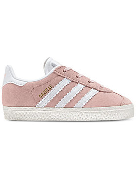 Toddler Girls' Gazelle Casual Sneakers From Finish Line by Adidas