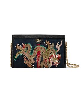 Ophidia Embroidered Medium Shoulder Bag by Gucci
