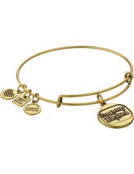 Charity By Design Completely Blessed Charm Bangle by Alex And Ani