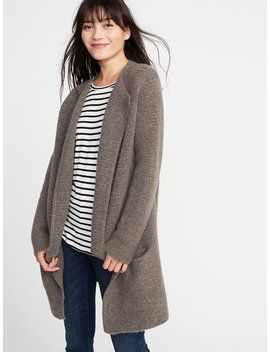 Open Front Cardi Coat For Women by Old Navy