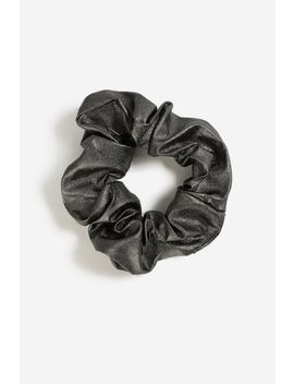 **Metallic Scrunchie by Topshop