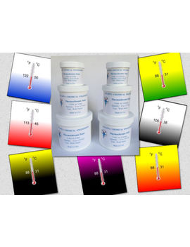 Thermochromic Paint Temperature Activated Color Changing Paint Multiple Colors by Atlanta Chemical Engineering
