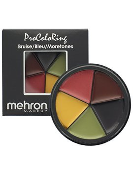 Mehron  Makeup 5 Color Bruise Wheel For Special Effects| Movies| Halloween by Mehron