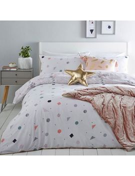 Home Collection   Multicoloured 'evie' Bedding Set by Home Collection