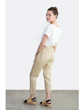 Loose Linen Pants, Natural Linen Trousers, Linen Clothing, Wholesale by Etsy