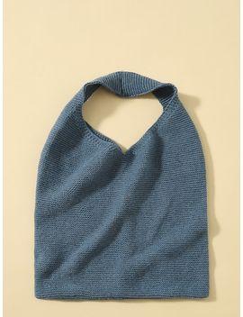 Crochet Tote Bag by Sheinside