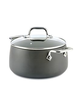 Ha1 Hard Anodized 4 Quart Soup Pot With Lid by All Clad