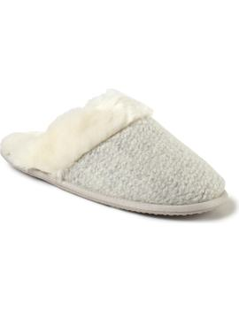 Textured Felt Mule Slipper by The White Company