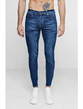 Skinny Fit Denim Jeans by Boohoo