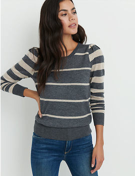 Puff Sleeve Sweater by Lucky Brand