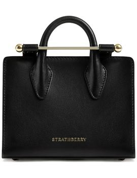 Nano Leather Tote by Strathberry