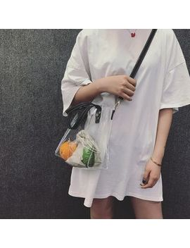 Ovino   Pvc Tote With Drawstring Pouch by Ovino