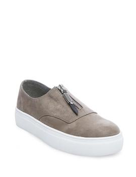 Kudos Platform Zip Sneaker by Madden Girl