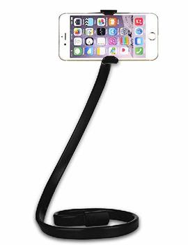 J Ms Dream Cell Phone Holder Lazy Bracket Long Arm Stable Bedside Mobile Phone Stand Adjustable With Removable Mount For I Phone X/8/7/6/6s Plus Samsung Note Galaxy S8/S7 Black by J Ms Dream