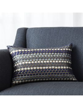 "Capshaw 18""X12"" Pillow With Feather Down Insert by Crate&Barrel"