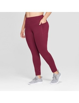Women's Plus Freedom 7/8th Mid Rise Leggings   C9 Champion® by C9 Champion®