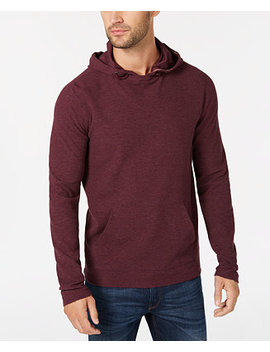 Men's Waffle Knit Hoodie by Michael Kors