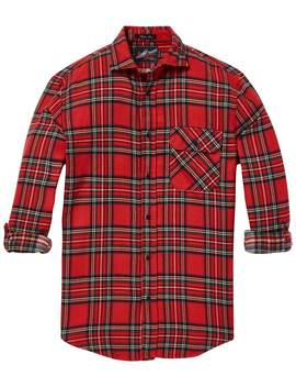 Brushed Check Shirt <Br> Regular Fit by Scotch&Soda