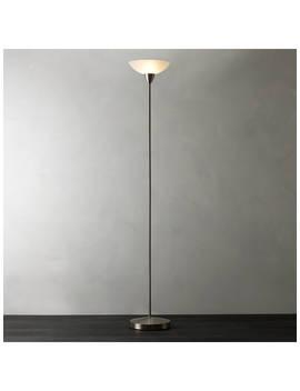 House By John Lewis Darlington Uplighter Floor Lamp, Chrome by House By John Lewis