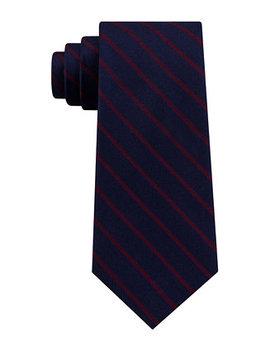 Men's Exotic Stripe Silk Tie by Tommy Hilfiger
