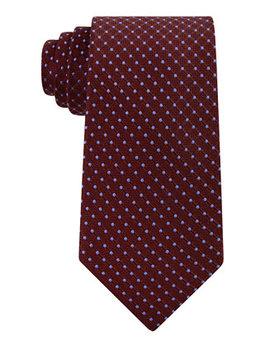 Men's Dot Silk Tie by Tommy Hilfiger