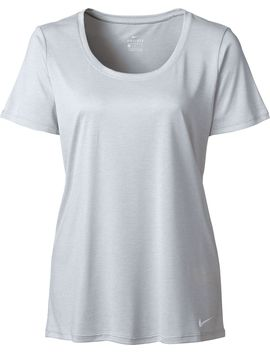 Nike Women's Dry Legend Scoop Veneer T Shirt by Nike