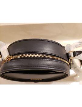 *Nwt*Coach**Mi<Wbr>Dnight Navy Blue Smooth Leather Canteen Crossbody Handbag, $275 by Coach