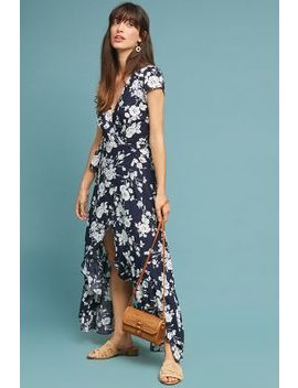 Charlotte Maxi Wrap Dress by Anthropologie