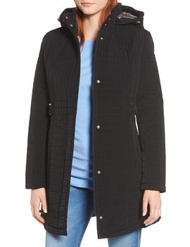 Hooded Quilted Jacket by Gallery